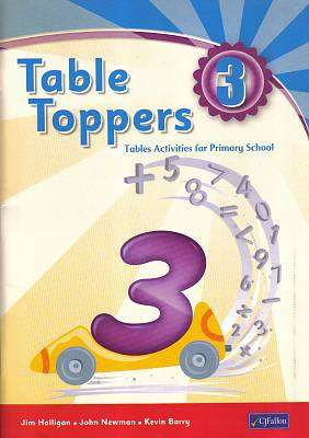 Cover of Table Toppers 3 - Jim Halligan & John Newman & Kevin Barry - 9780714417158