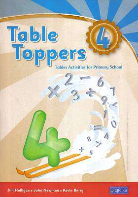 Cover of Table Toppers 4 - Jim Halligan & John Newman & Kevin Barry - 9780714417165