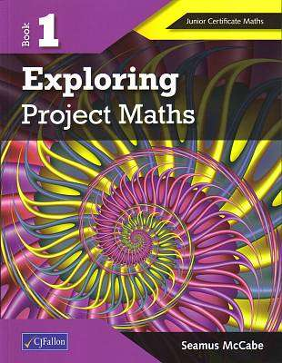 Cover of Exploring Project Maths Book 1 - Seamus McCabe - 9780714419183
