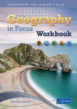 Cover of Geography in Focus Workbook - Dermot Lucey - 9780714419213