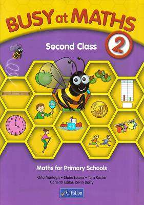 Cover of Busy at Maths 2nd Class - Orla Murtagh - 9780714419626