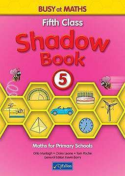 Cover of Busy At Maths 5th Class Shadow Book - Orla Murtagh - 9780714420745