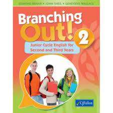 Cover of Branching Out! 2 Textbook & Response Journal - Edmond Behan, John Sheil & Genevieve Wal - 9780714421254