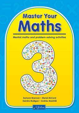 Cover of Master Your Maths 3 - Meriel McCord Eamonn Brennan - 9780714421711