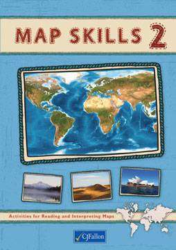 Cover of Map Skills 2 - 6th Class Pack - CJ Fallon - 9780714423050