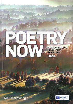 Cover of Poetry Now Higher Level 2020 - Niall MacMonagle - 9780714425191