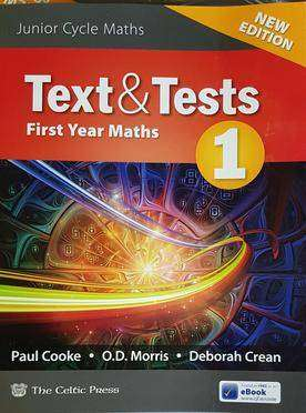 Cover of Text & Tests 1 New 2018 Edition - Cooke, Morris,Crean - 9780714425979