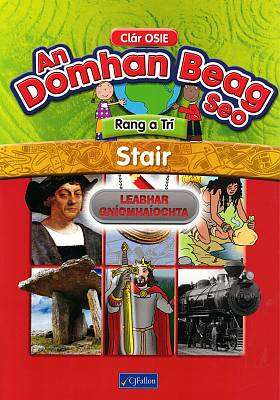 Cover of An Domhain Beag Seo- Rang 3 - Activity Book - 9780714426938