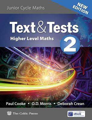 Cover of Text and Tests 2 Junior Certificate Higher Level 2019 - 9780714427522