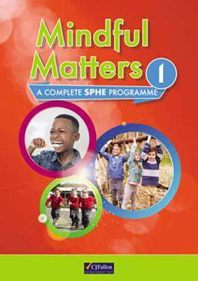 Cover of Mindful Matters 1 1st Class - CJ Fallons - 9780714428192