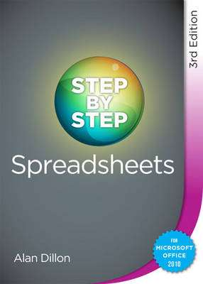 Cover of Step by Step Spreadsheets 3rd Edition - Alan Dillon - 9780717160440