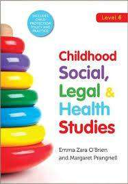 Cover of Childhood Social, Legal & Health Studies - Emma Zara O'Brien - 9780717168132