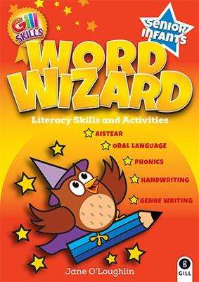 Cover of Word Wizard Senior Infants - Jane Fitzgerald - 9780717171682