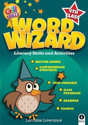 Cover of Word Wizard 4th Class - Jane Fitzgerald, Lorraine Lawrance & Ali - 9780717171729