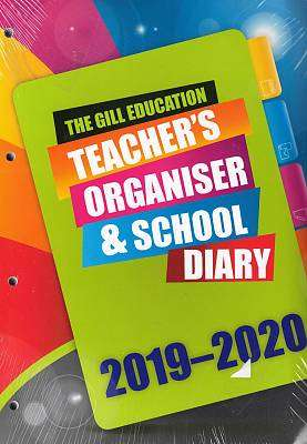 Cover of Gill Teachers Organizer 2019/20 - 9780717184118