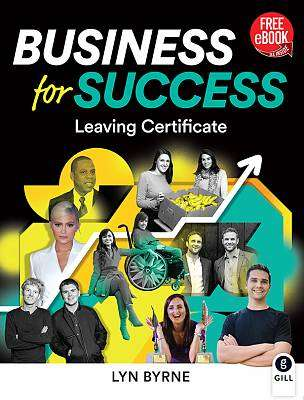 Cover of Business for Success Textbook & Workbook - Lyn Byrne - 9780717188833