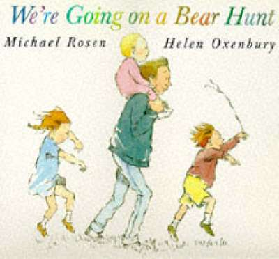 Cover of We're Going On A Bear Hunt : Big Book - Michael Rosen - 9780744547818