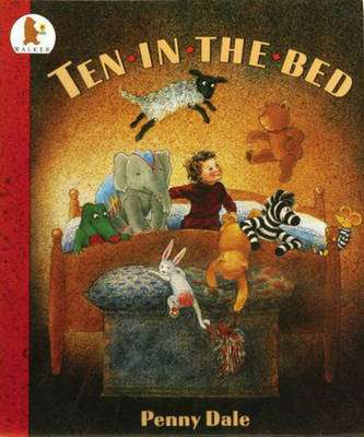 Cover of Ten in the Bed : Big Book - Penny Dale - 9780744563252