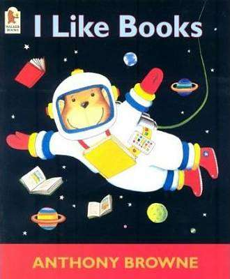 Cover of I Like Books - Anthony Browne - 9780744598575