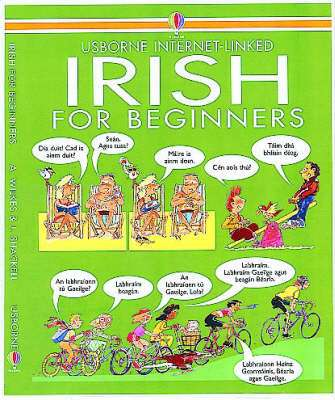Cover of Usborne Internet-Linked: Irish for Beginners - Usborne - 9780746003831