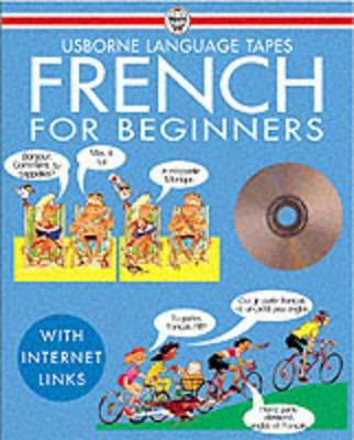 Cover of French for Beginners Book & CD - Usborne - 9780746046395