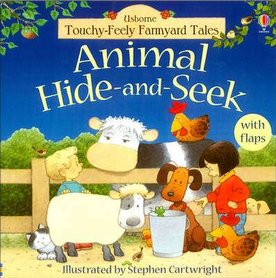 Cover of Animal Hide and Seek - Usborne - 9780746055755