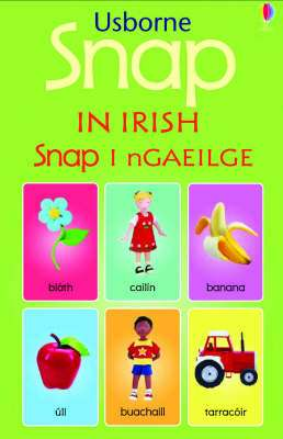 Cover of Snap in Irish - Usborne - 9780746063378