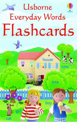 Cover of Everyday Words in English Flashcards - Usborne - 9780746066539