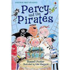 Cover of Usborne First Reading Level 4: Percy and the Pirates - Usborne First Reading Level Four - 9780746077665