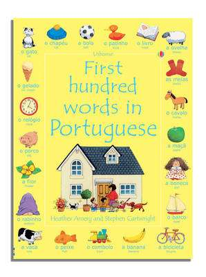 Cover of FIRST HUNDRED WORDS IN PORTUGUESE - Mairi Mackinnon - 9780746093672