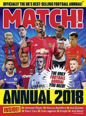 Cover of Match Annual 2018 - Match - 9780752266053