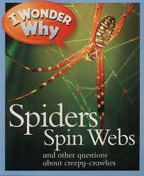 Cover of I Wonder Why: Spiders Spin Webs - Sandcastle - 9780753440667