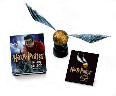 Cover of Harry Potter Golden Snitch Sticker Kit - Running Press - 9780762428212