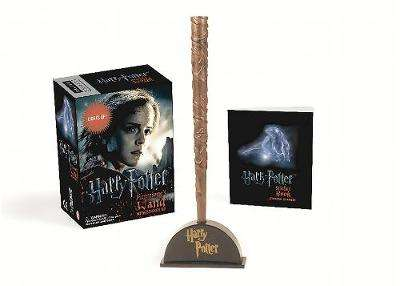 Cover of Harry Potter Hermione's Wand with Sticker Kit: Lights Up! - Running Press - 9780762459322