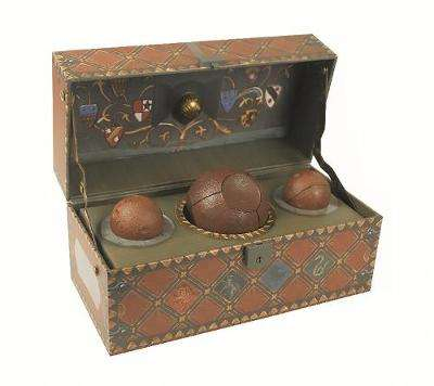 Cover of Harry Potter: Collectible Quidditch Set - Running Press - 9780762459452