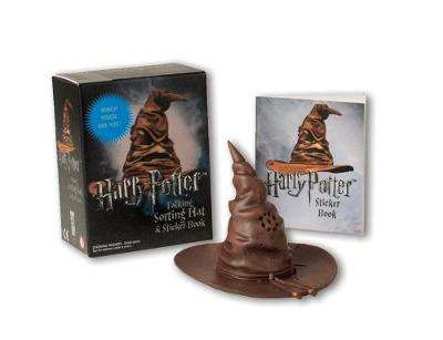 Cover of Harry Potter Talking Sorting Hat And Sticker Book: Which House Are You? - Running Press - 9780762461769