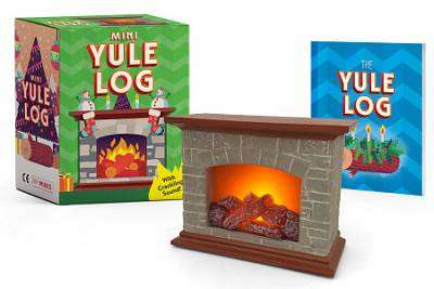 Cover of Mini Yule Log: With crackling sound! - Running Press - 9780762471492