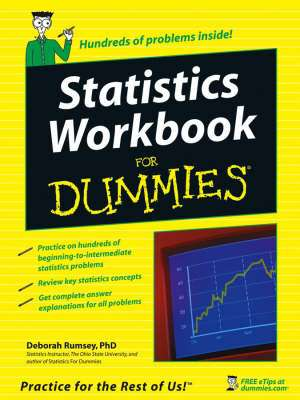 Cover of STATISTICS WORKBOOK FOR DUMMIES - Deborah Rumsey - 9780764584664