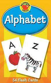 Cover of Alphabet Flash Cards - School Specialty Publishing - 9780769646794