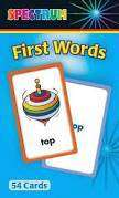 Cover of First Words Flash Cards - Carson-Dellosa Publishing - 9780769663395