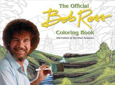 Cover of Bob Ross: The Four Seasons Coloring Book - B. Ross - 9780789336811