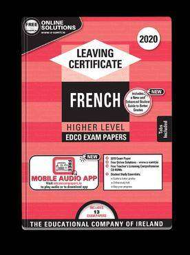 Cover of Edco Exam Papers French Higher Level Leaving Cert - Edco - 9780861675333