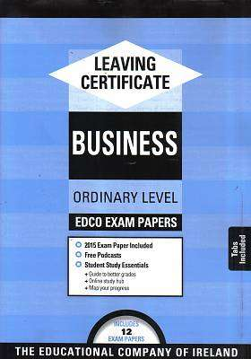 Cover of Edco Exam Papers Business Ordinary Level Leaving Cert - Edco - 9780861676019