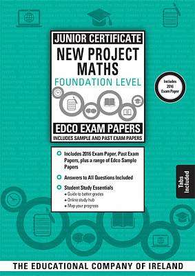 Cover of Edco Exam Papers Maths Foundation Level Junior Cert - Edco - 9780861679669