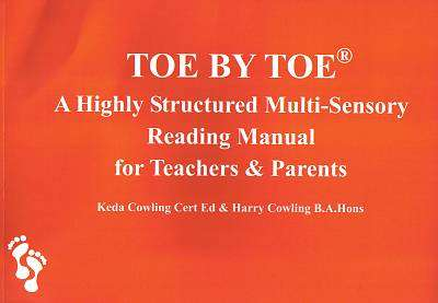 Cover of Toe By Toe - Keda Cowling & Harry Cowling - 9780952256403