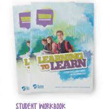 Cover of Learning to Learn Student Workbook - Feidhlim O Seasnain - 9780957016149