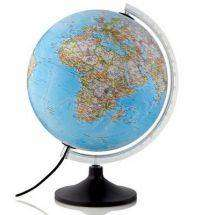 Cover of Carbon Classic Illuminated Globe - The Globe Company - 9780957232808