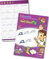 Cover of Just Cursive Handwriting : Second Class - Denise Higgins - 9780992900663