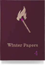 Cover of Winter Papers Volume 4 - Kevin Barry - 9780993302930