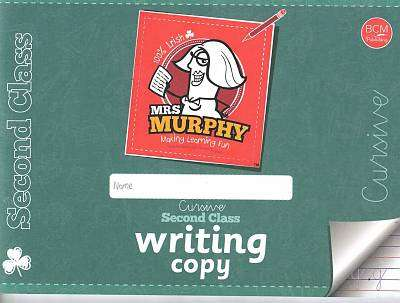 Cover of Mrs Murphy's Copies: Second Class - Breda Murphy - 9780993529542